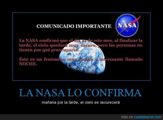 alarma,apocalipsis,comunicado,confirma,fenomeno,fin,importante,luna,mundo,nasa,noche
