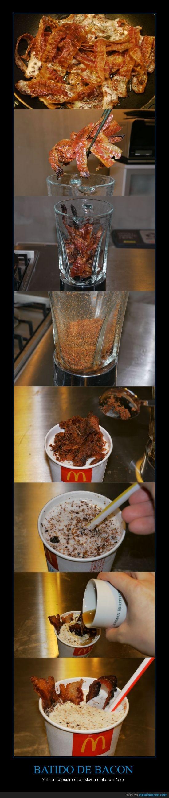 bacon,batido,malteada,mcdonalds,solo en Estados Unidos,sundae