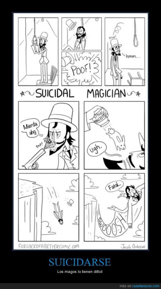 magos,suicidarse