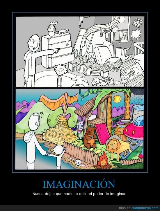 color,habitacion,imaginacion,imaginar,leon,mente,niño,reino