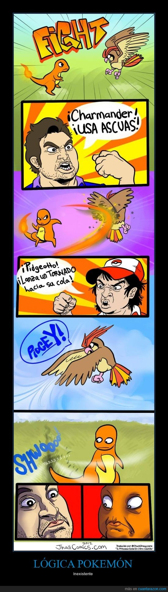 aire,apagar,charmander,cola,fail,fuego,logica,Pokemon