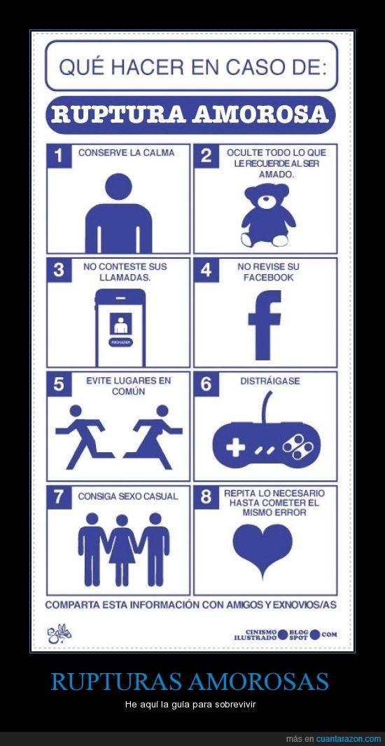 amor,amorosa,cortar,dejar,entretener,facebook,guia,pareja,que hacer,ruptura