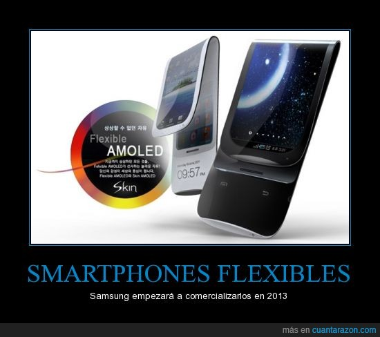 Android,flexible,movil,Samsung,telefono