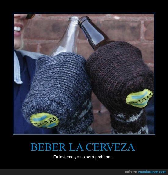 Beber,cerveza,hazme esto abuela,ideas,invierno