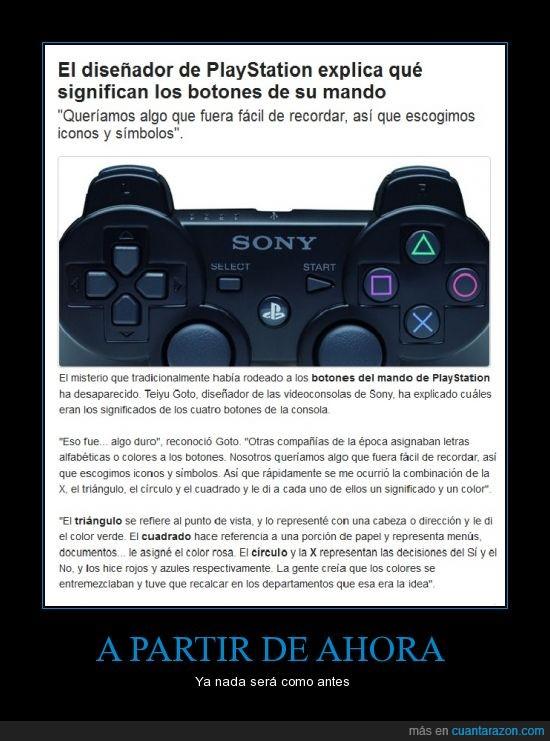 circulo,controles,cuadrado,explicacion,forma,mando,PlayStation,secretos,triangulo,X