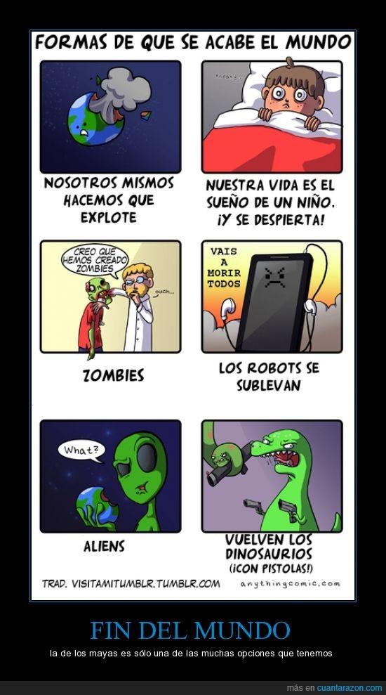 2012,fin del mundo,jaja,mayas,solo 2 dias para burlarnos de los que creen en el fin del mundo