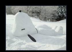 Enlace a SNOOPY DE NIEVE