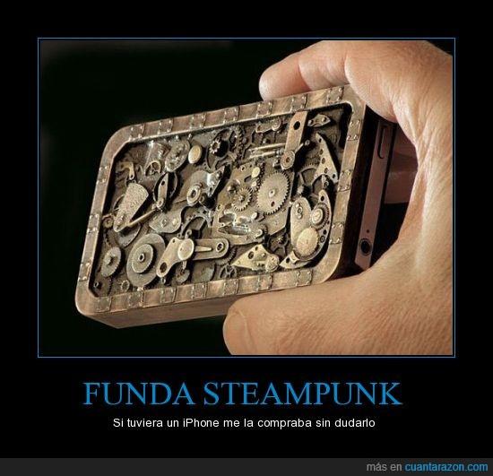 engranaje,funda,Iphone,Protector,Steampunk