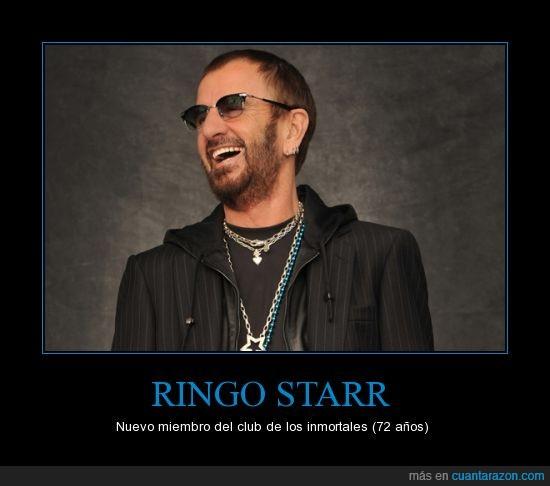inmortal,Jordi Hurtado está celoso,Ringo Starr
