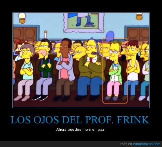 el profesor frink el profesor friiiiink,frink,ojo,profesor,ver