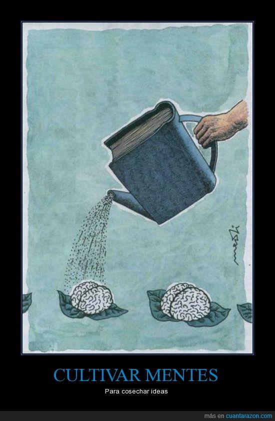 col,Cultivar,Libros,Mente,regadera,Regar