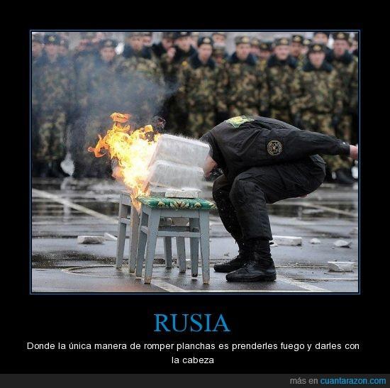 cabeza,cabezazo,fuego,golpe,hielo,ruso