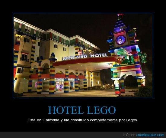 california,flipada,hotel,lego