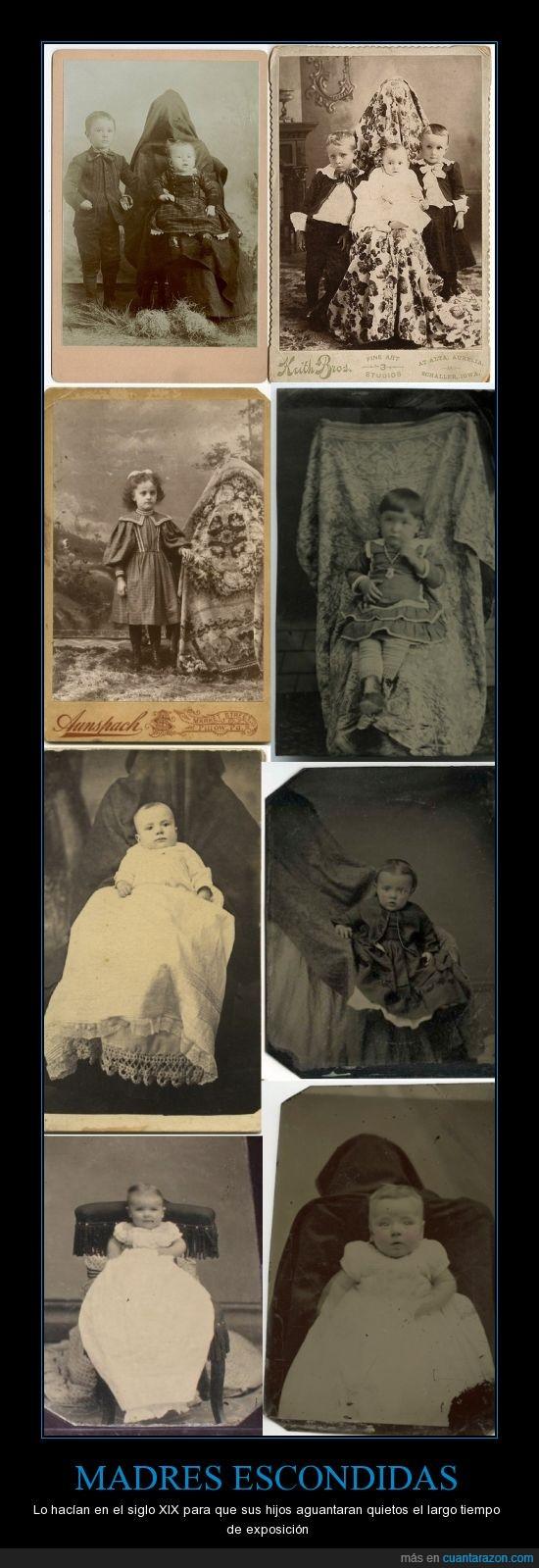 19,epoca,exposición,foto,fotos,madres,niños,siglo,victoriana,XIX