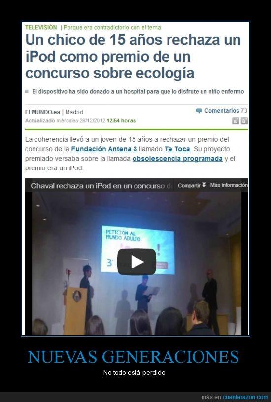capitalismo,ecología,ipod,naturaleza,obsolescencia programada,tecnología