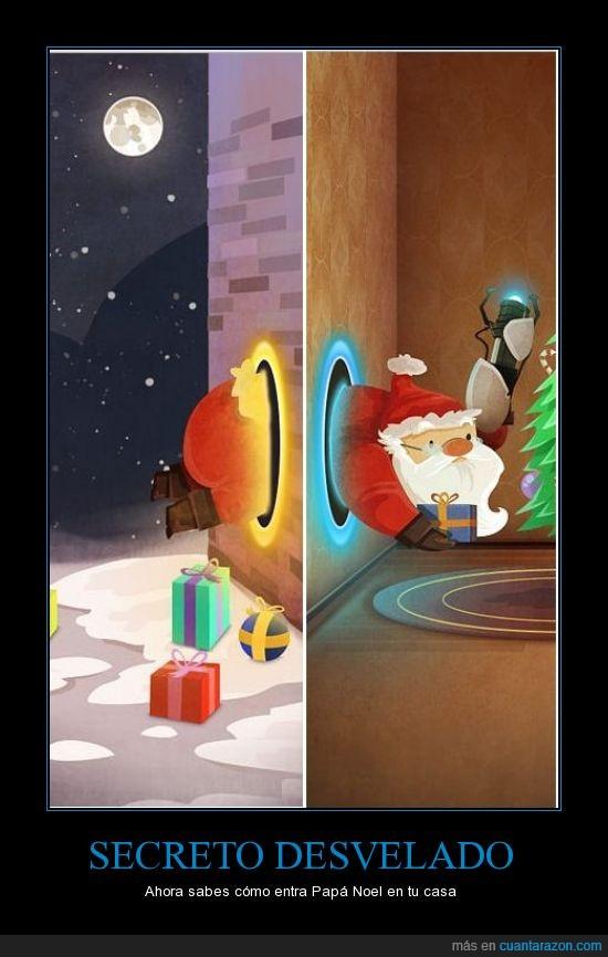 navidad,papá noel,portal,regalos,santa claus