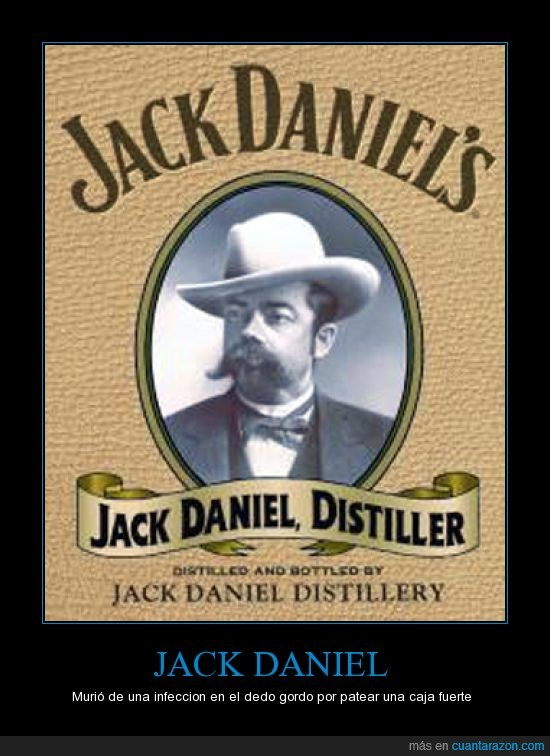 infeccion,jack daniel,patear,whisky