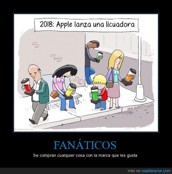 apple,batidora,fanboy,licuadora,obsesion,saca