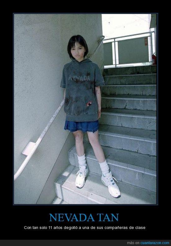 asesina,clase,compañera,cuter,degollo,Japonesa,mata