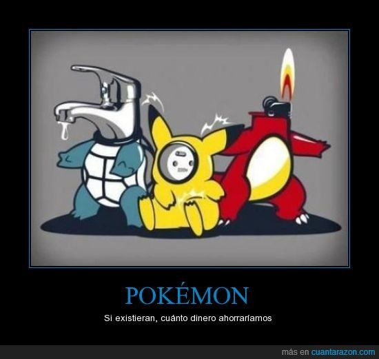 ahorro,charmander,pikachu,pokémon,squirtle