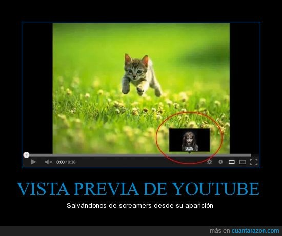 exorcista,niña,previa,screamers,susto,vista,youtube