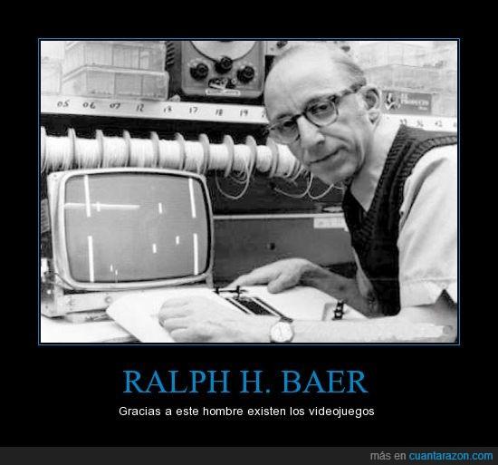 Brown Box,Inventor,Magnavox Odyssey,Padre,Ralph H. Baer,Videojuegos
