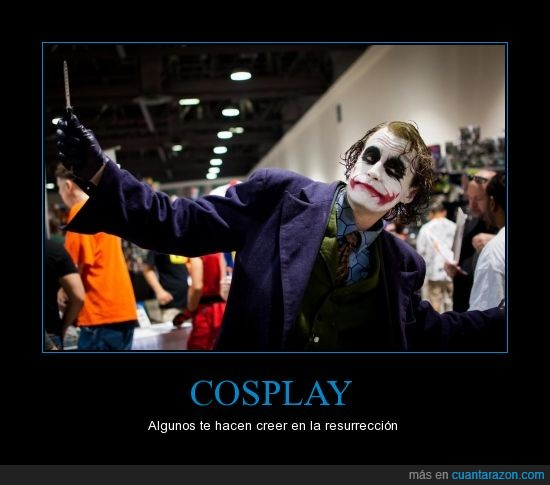 cosplay,resurrección,The joker