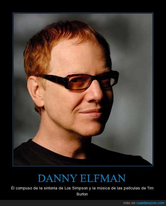 compositor,danny elfman,los simpson,musica,sintonia,tim burton