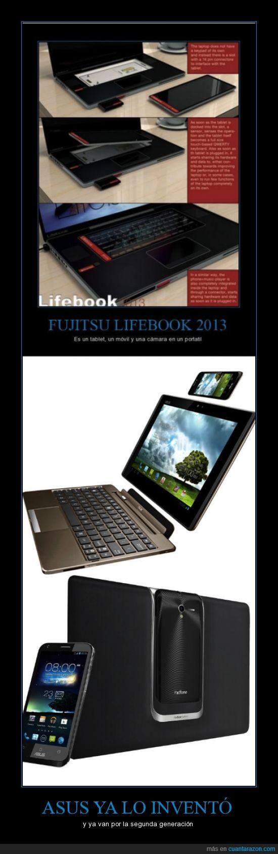 asus padfone,asus padfone2,fujitsu lifebook
