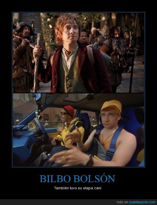 Actor,Ali-g,Bilbo,Bolsón,Cani,La comarca,Mediano,ricky C