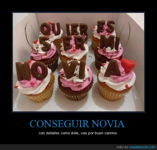 conseguir novia,cupcakes,declararse,detallista,F.U frienzone!