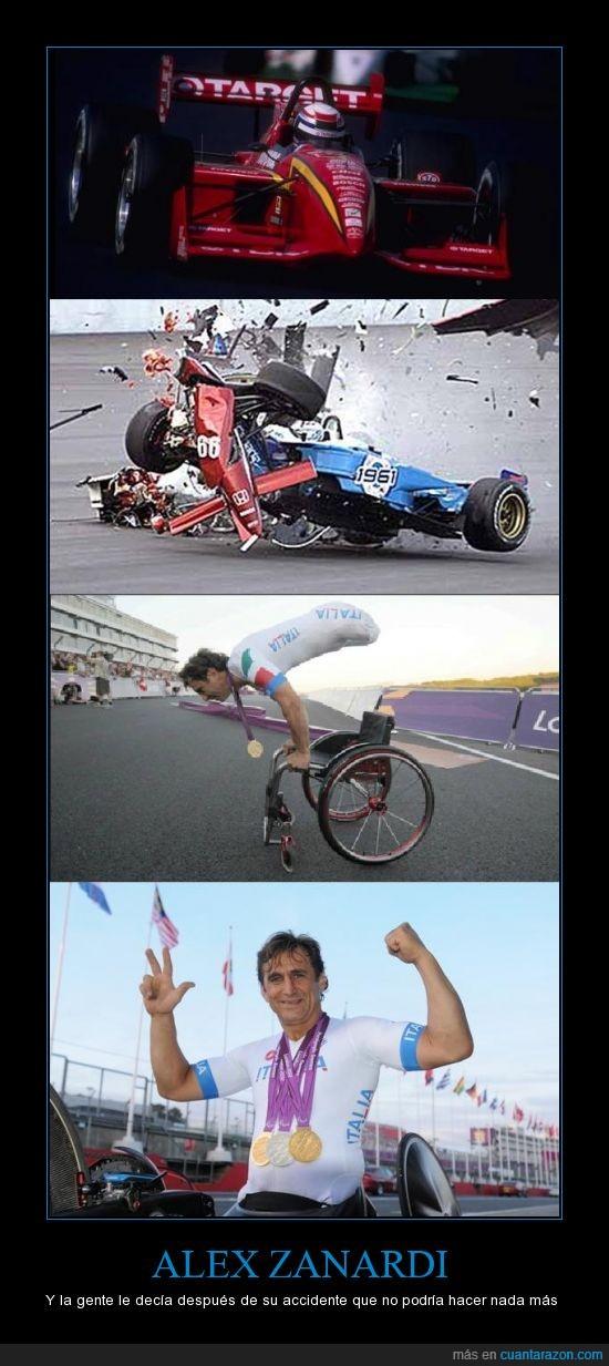 Alex,choque,esperanza,Formula 1,Formula Cart,heroe,londres 2012,medalla oro,modelo,Paralimpicos,recuperacion,superacion,Zanardi