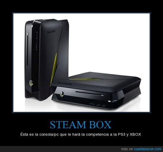 competencia,consola,nuevo,original,pc,ps3,steam box,xbox