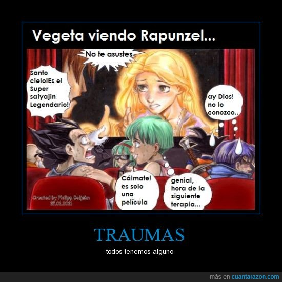 brilla,dragon ball,enredados,goku,legendario,pelo,rapunzel,sayayin,tangled,vegeta