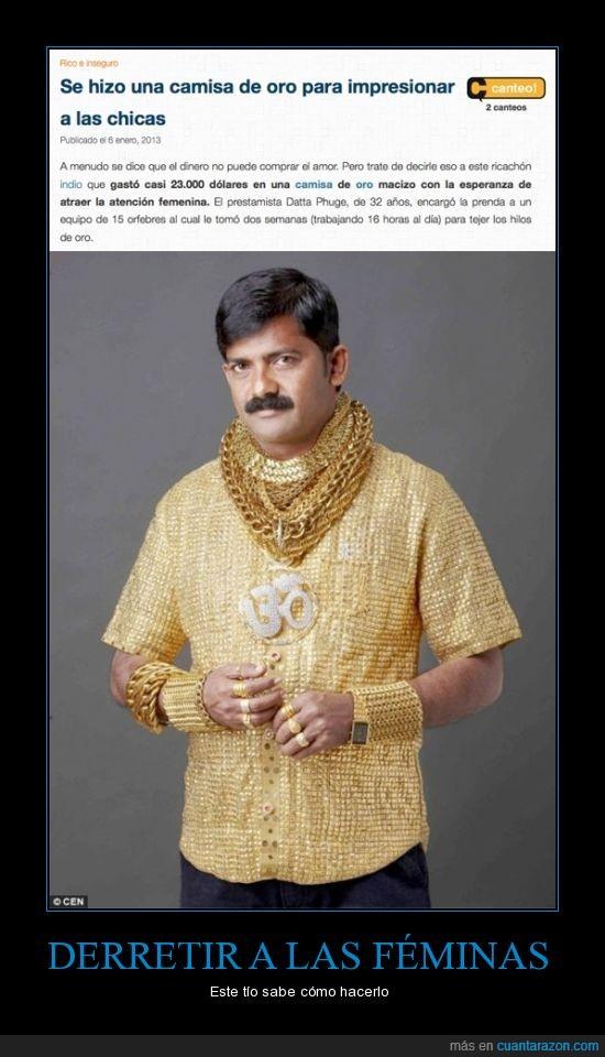 camiseta,indio,menamorao,oro,rico,tejido