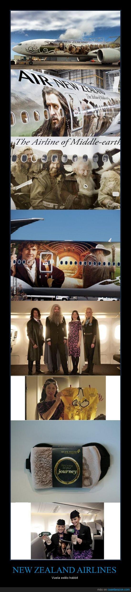 aerolinia,enano,hobbit,nueva,zelanda