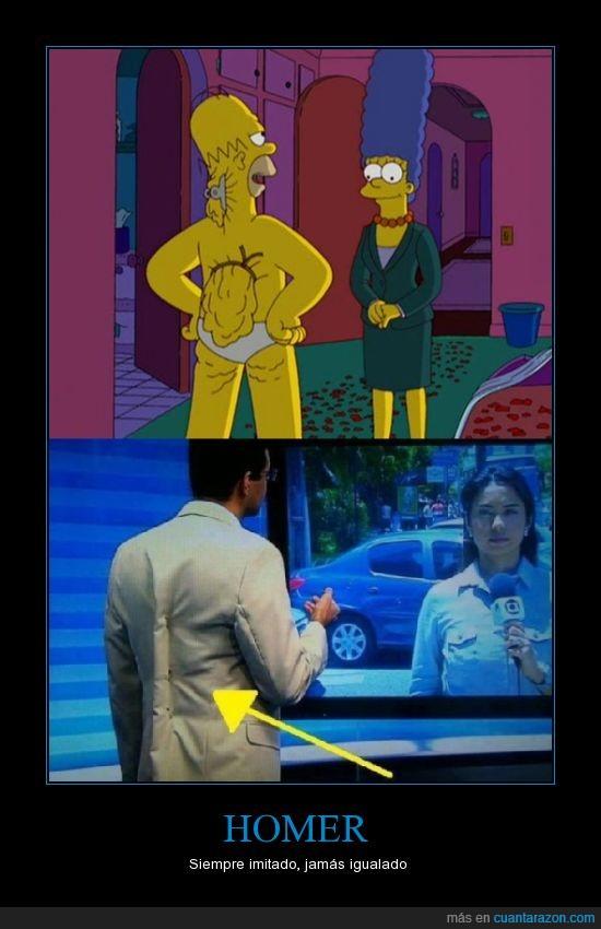 esconder,grasa,Homer,igualar,imitar,pinza,Quiero que se hable del carte no de si es homero u homer,ropa