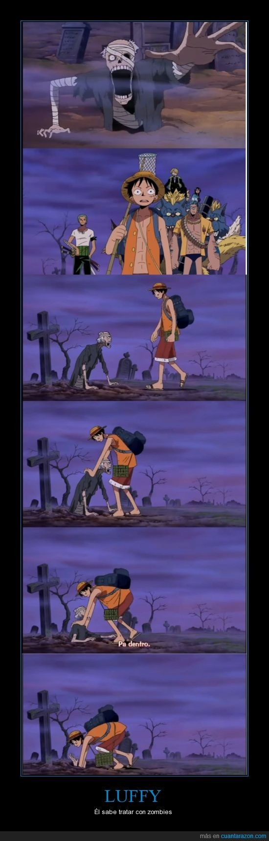 Apocalipsis Zombie,Luffy,One Piece,Zombie