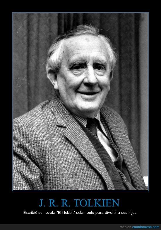 El Hobbit,El Señor de los Anillos,gran padre,hijos,Tolkien