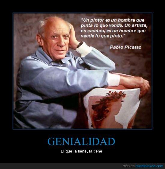 Arte Pablo Picasso,Artista,Frases,vender