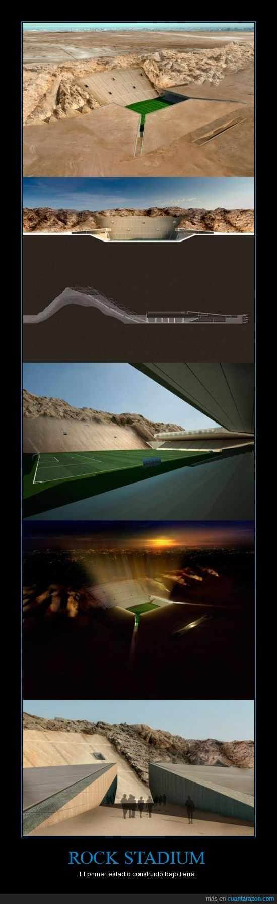 arabia,desierto,estadio,futbol,subterraneo,tierra