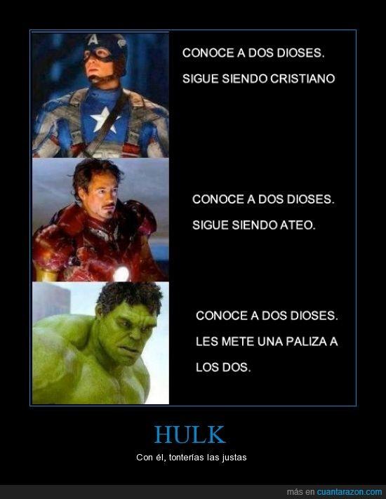 capitán américa,dioses,hulk,iron man,the avengers