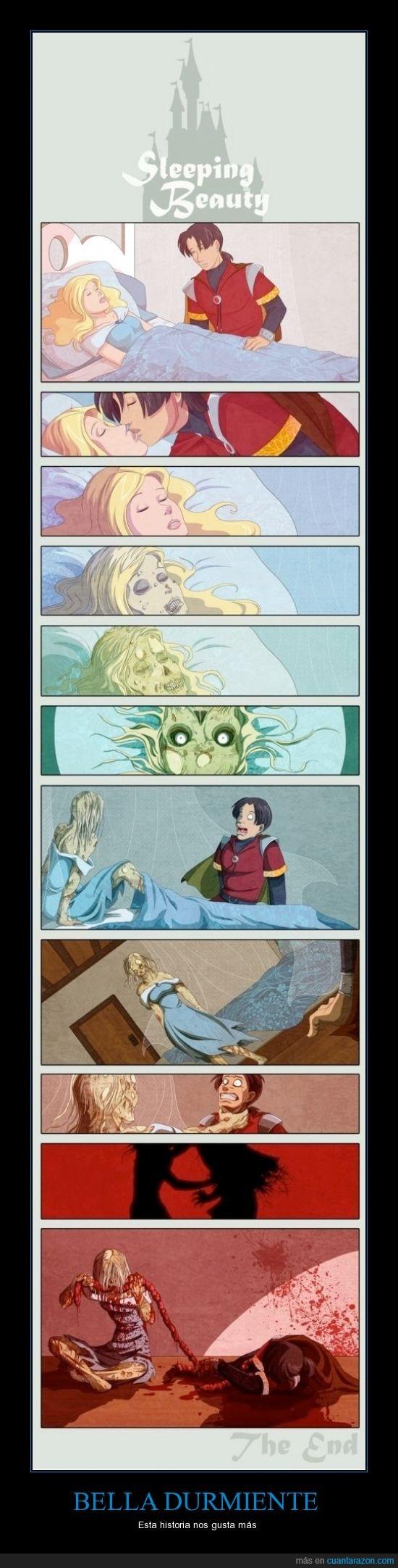 bella,disney,durmiente,zombi