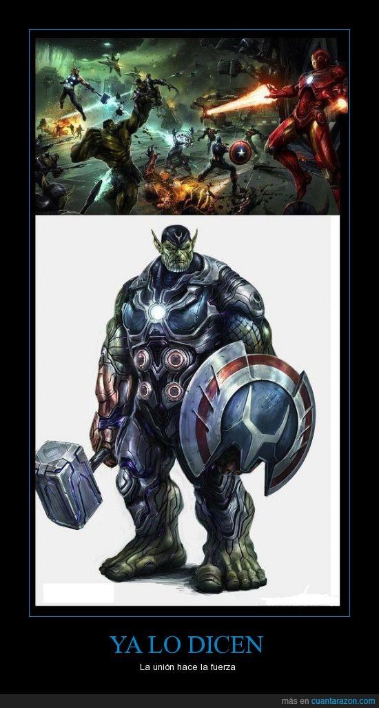 avengers,capitan,hulk,ironman,thor,union