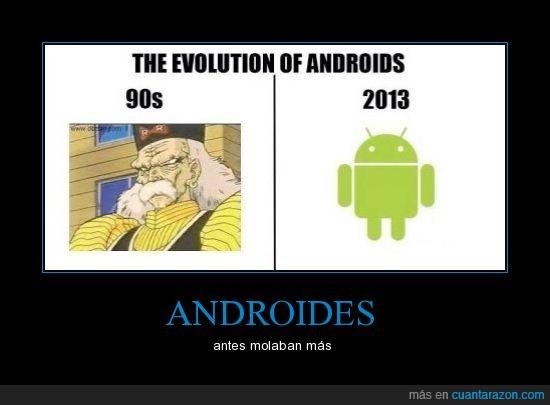androide,antes,despues,dr gero,evolucion,molar