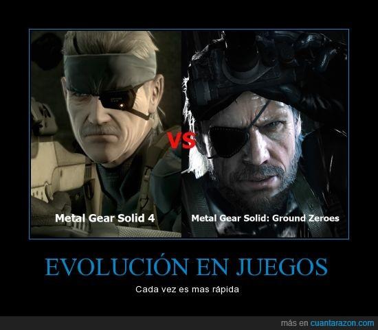 Fox,Metal Gear Solid,PS3,Solo un juego de diferencia,Sony,Tecnología,Videojuegos