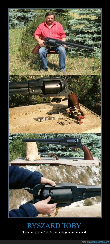 arma,gigante,grande,hombre,pistola,revolver