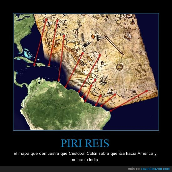 Colón,Cristobal,Engañar,manipulados,manipular,mapa,piri,reis,XIV,y el capullo echándose flores