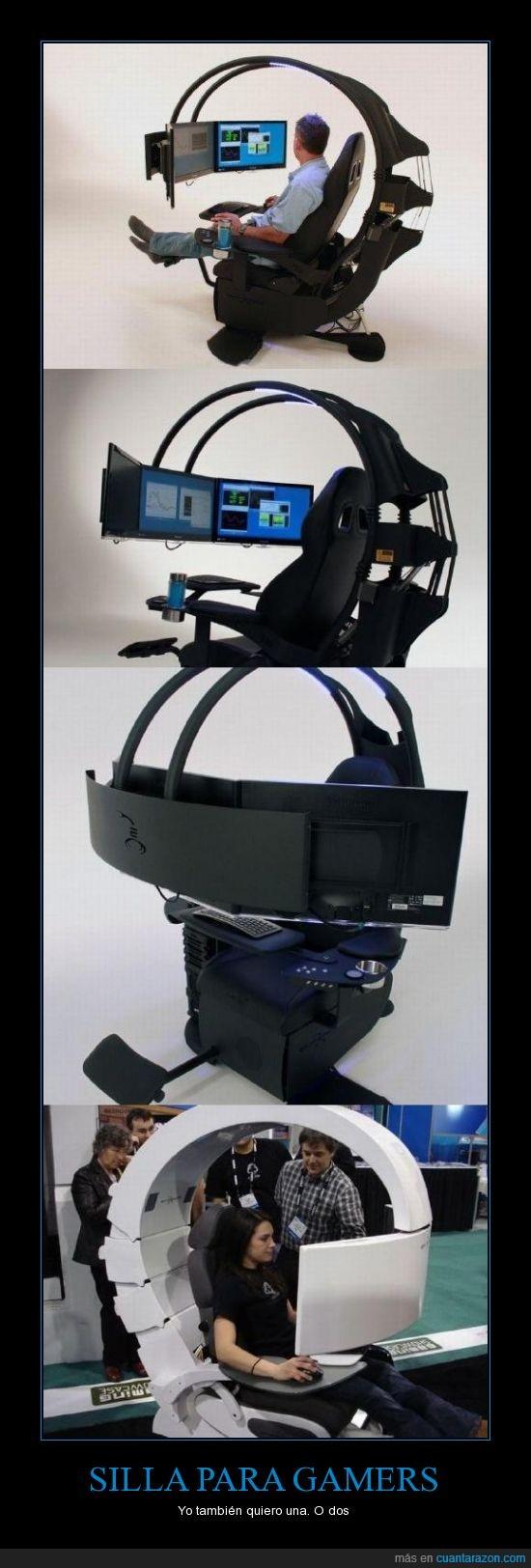 caro,chulo,gamers,mola,ordenador,pantalla,pc,silla,tele,videjojuego