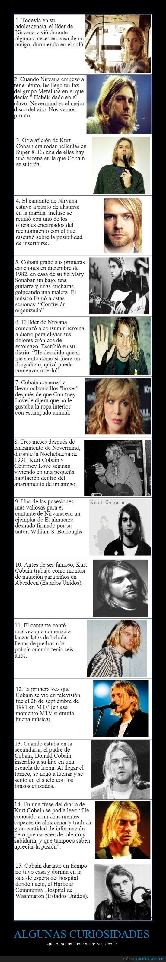 curiosidades,Kurt Cobain,MTV,música,músico,Nirvana,un pequeño homenaje a mi cantante favorito :)